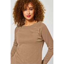 Basic Sweater Gundi - Easy Camel Melange