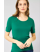 Cecil Organic Halbarmshirt Lena - Lucky Clover Green