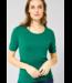 Cecil Organic Shirt Lena - Lucky Clover Green