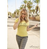 Elvira Collections Pants Kirsten - Squares Yellow