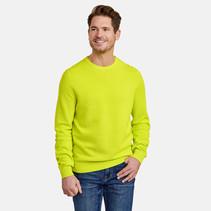 Pullover met Structuur - Wild Lime