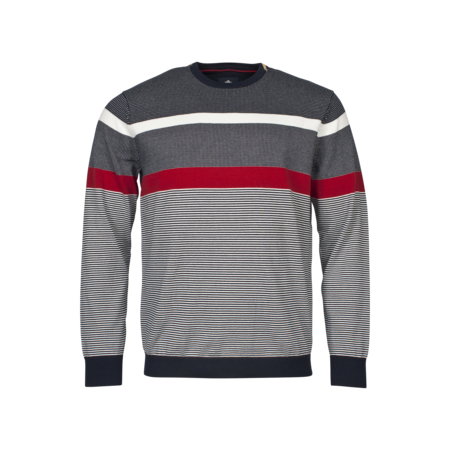 Baileys Sporty Sweater - Red
