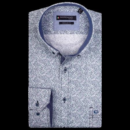 Giordano Shirt Button-Down - Dark Green