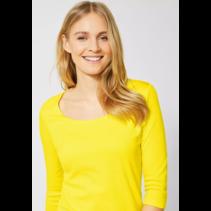 Basic Shirt Pania - Shiny Yellow