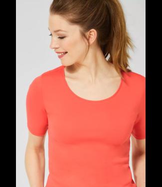 Cecil Organic Shirt Lena - Tangerine Orange
