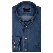 Denim Overhemd - Navy