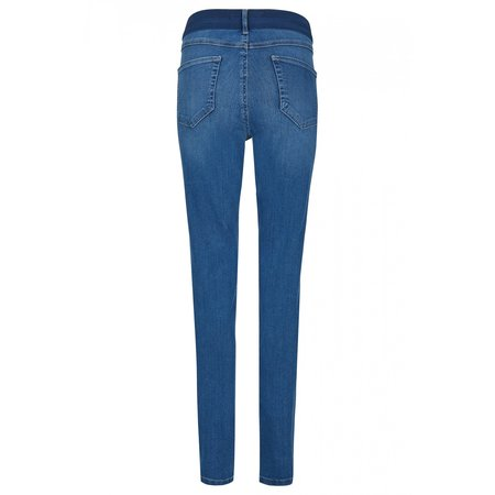 """Angels Jeanswear Jeans """"One Size Fits All"""" - Mid Blue Used"""