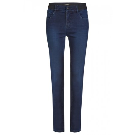 """Angels Jeanswear Jeans """"One Size Fits All"""" - Dark Indigo Used"""