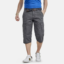 Cargo Long Bermuda - Rock Grey