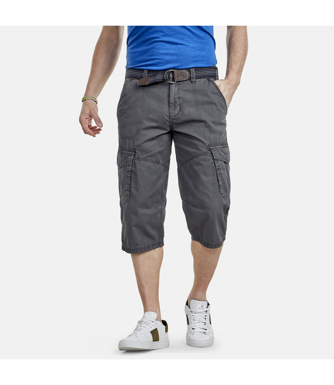 Lerros Cargo Long Bermuda - Rock Grey