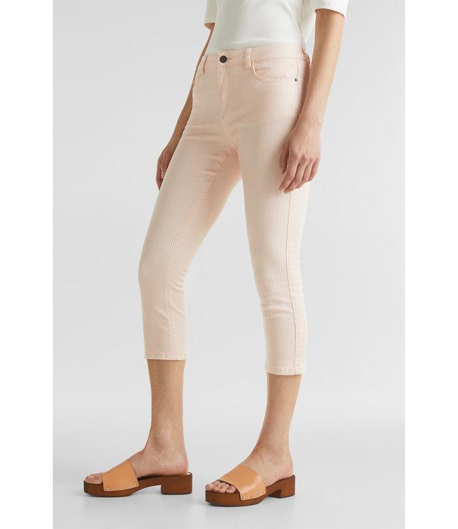 Esprit Repreve® Striped Pants - Peach