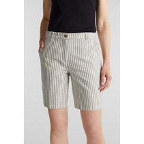 Chambray Short with Stripes - Navy