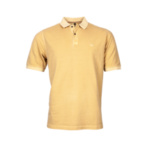 Basic Piqué Polo Shirt - Golden Apricot
