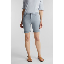 Shorts mit EarthColors®-Färbung - Light Blue Lavender