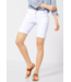 Cecil Witte Loose Fit Short Scarlett - White Denim