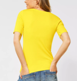 Cecil Organic Shirt Lena - Radiant Yellow