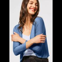 Kurze Shirtjacke Suse - Smoky Blue
