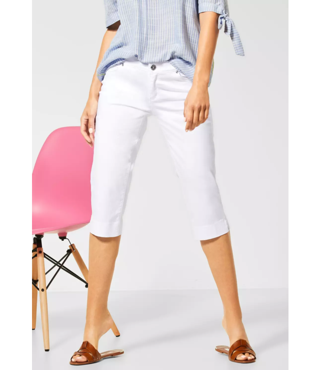 Street One Capri-Broek Casual Fit Yulius - White