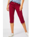 Street One Capri-Broek Casual Fit Yulius - Sweet Wine