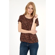 Blouse Sammy 23 - Brick Combi