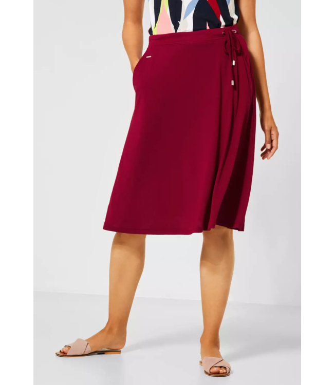 Street One Comfortable Skirt in A-line - Sweet Wine