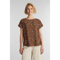 Blouse from LENZING™ ECOVERO™ - Rust Brown