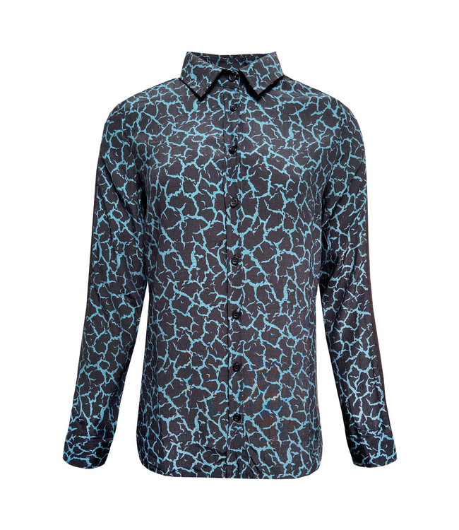 Elvira Collections Blouse Marlou - Earth Print