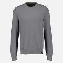 Basis Pullover - Ash Grey Melange