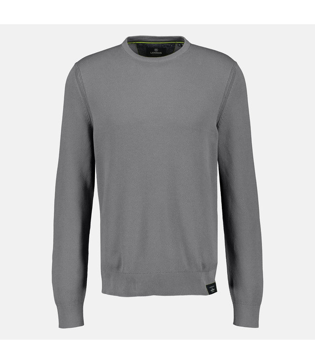 Lerros Basic Sweater - Ash Grey Melange