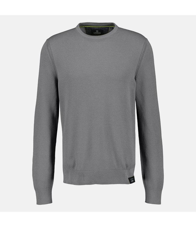 Lerros Basis Pullover - Ash Grey Melange