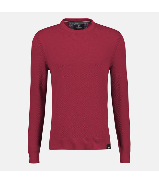 Lerros Basic Strickpullover - Red