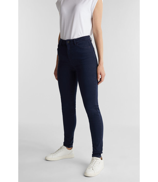 Esprit Pants with Shaping-Function - Navy