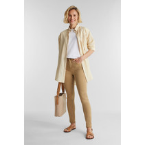 Pants with Shaping-Function - Camel
