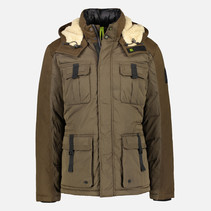 Outdoor Fieldjacket - Brown Melange