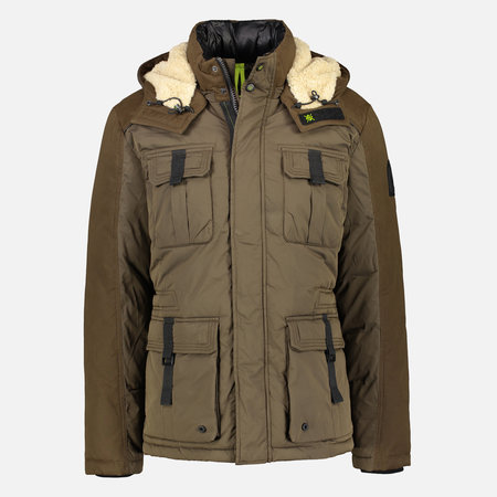 Lerros Outdoor Fieldjacket - Brown Melange