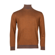 Sweater with Turtleneck - Light Brown