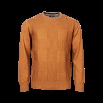 Sweater Round Neckline - Light Brown