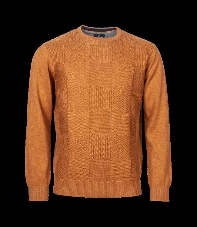 Baileys Sweater Round Neckline - Light Brown