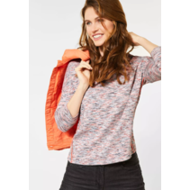 Melange Shirt - Heather Orange Melange