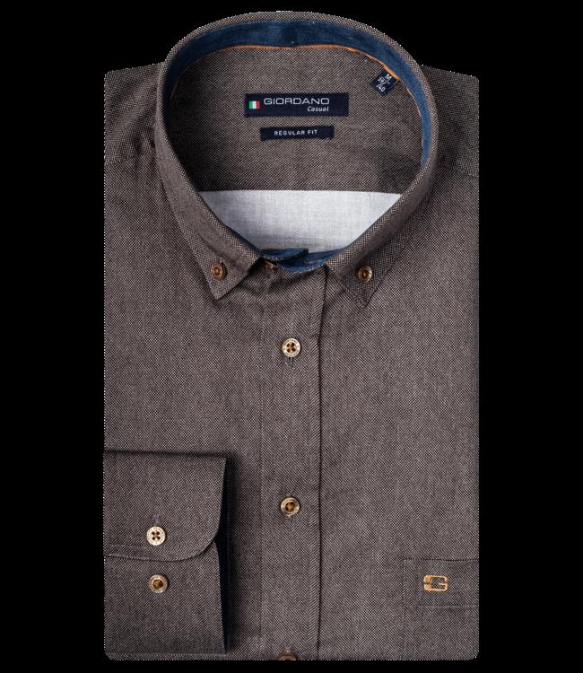 Giordano Ivy Shirt - Brown