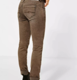 Street One Denim Gekleurde Stijl Jane - Dark Camel Random Bleach