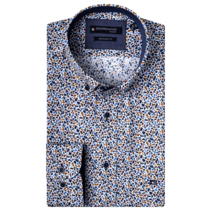 Shirt with Print - Blue