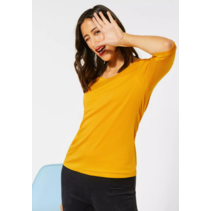 Basic Shirt Pania - Amber Yellow