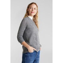 With Wool: Pullover - Gunmetal