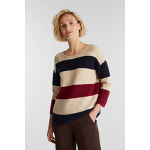 Knitted Sweater with Wool - Sand