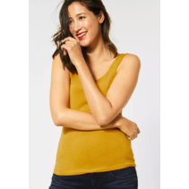 Basic Top Anni - Amber Yellow