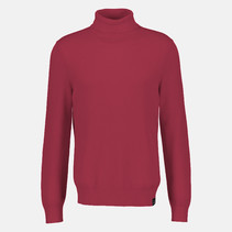 Structuur Pullover met Col - Red
