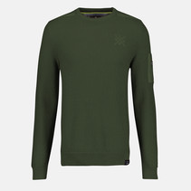 Pullover Ronde Hals - Reed Green