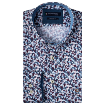 Button-Down Overhemd - Red