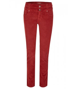 Angels Jeanswear Skinny Button Corduroy - Antique Berry Used